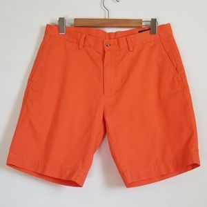 Polo Ralph Lauren Orange Classic Fit Shorts